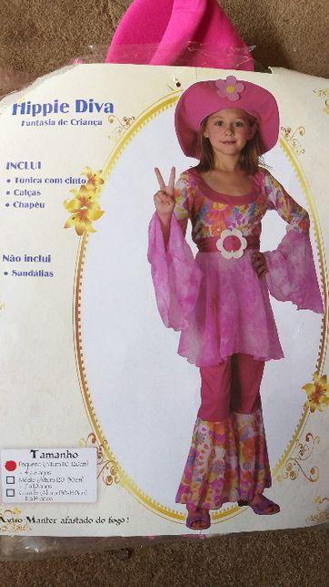 Fato de carnaval menina - Hippie-Diva