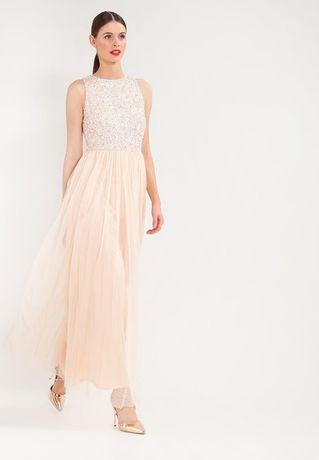 Sukienka na wesele dla świadkowej przepiękna cekiny S