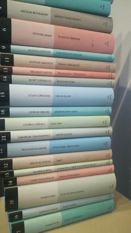 Kolekcja gazety wyborczej Książki zestaw lub osobno Imię róży Lolita