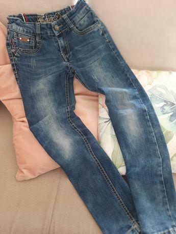 Happy hause Szczupłe spodnie jeansowe 140