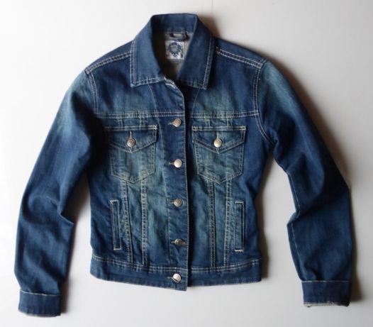 Katana kurtka jeansowa jeans damska MILLA 34 XS żakiet kurteczka teen