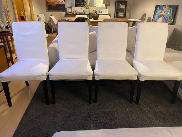 Conjunto 4 cadeiras de jantar IKEA