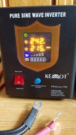 UPS KEMOT PROsinus-700/ akumulator 12V-100Ah