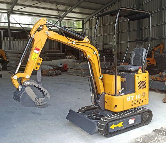 Mini escavadora diesel 1 ton