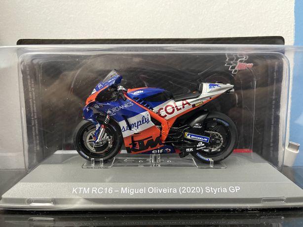 Moto KTM RC16 Miguel Oliveira
