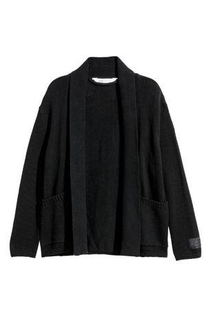 Вязаный кардиган HM на рост 146-152, 10-12 лет, пиджак