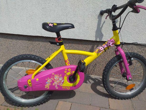 Rowerek dla dziewczynki 16'' cali