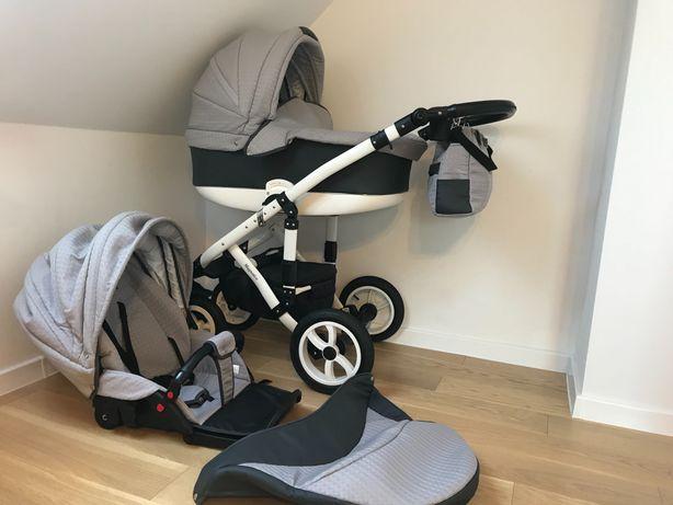 Wózek 2w1 Paradise Baby Magnetico - gondola+spacerówka