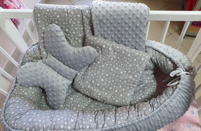 Nowy zestaw 4 elementy, kokon motylek poduszka i kołderka komis Maja