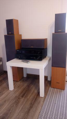 Kino domowe Pioneer VSX 417+kolumny koda AV706 5.0.