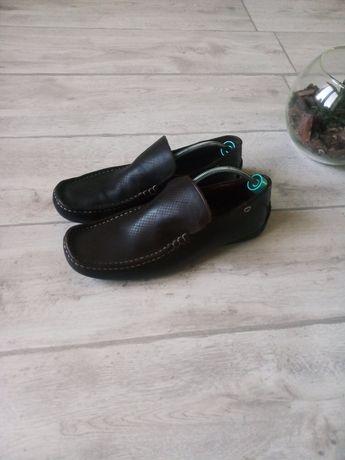 Кожаные туфли мокасины Ben Sherman Tommy Hilfiger