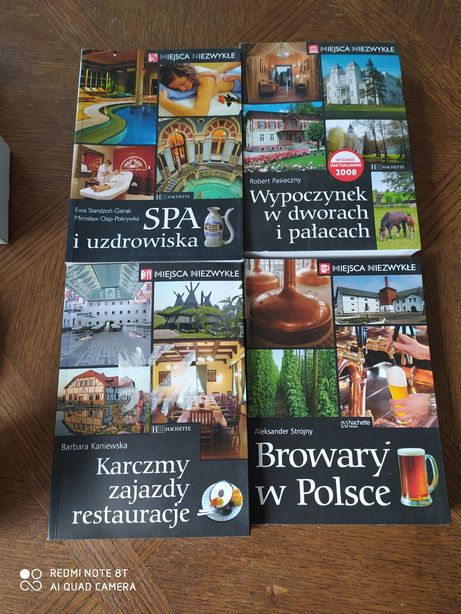 Miejsca niezwykłe browary w Polsce spa i uzdrowiska karczmy zajazdy