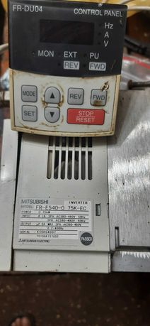 Продам частотный преобразователь  Mitsubishi FR E 540 0.75Квт