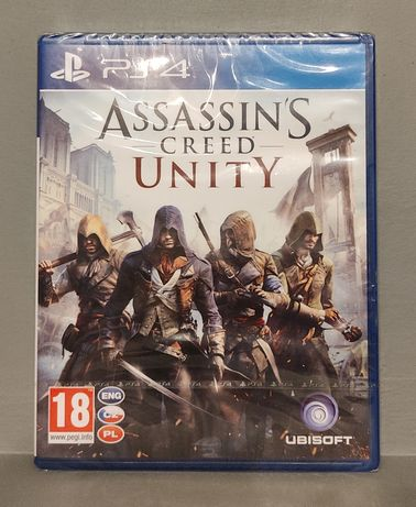 PlayStation 4! Assassin's Creed Unity! PS4 - Polecam