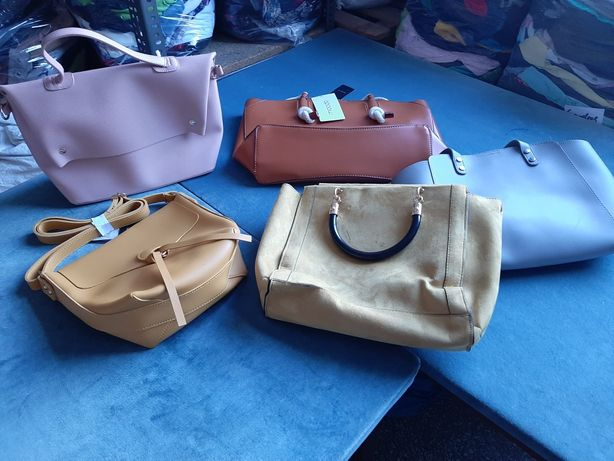 Odzież i torebki nowe