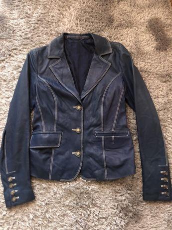Шикарный кожаный пиджак Baldinini