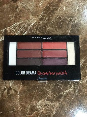 Палетка помад Maybelline Color Drama Lip Contour Palette