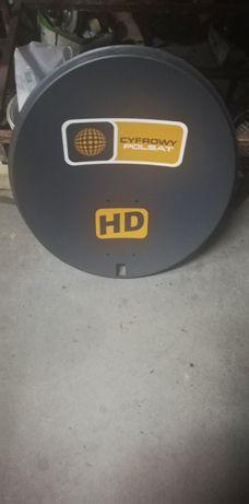 Talerz anteny satelitarnej antena satelitarna Cyfrowy Polsat HD