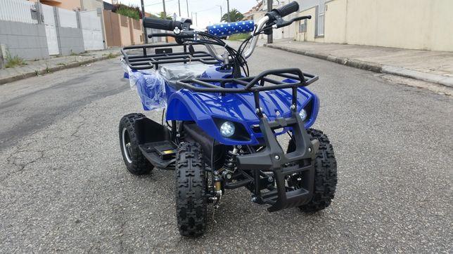 Mini mota quad eléctrica moto 4 ATV elétrica Torino 1000W várias cores