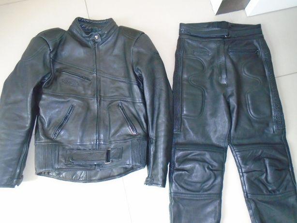 Kombinezon komplet motocyklowy kurtka spodnie skóra Rhino 40