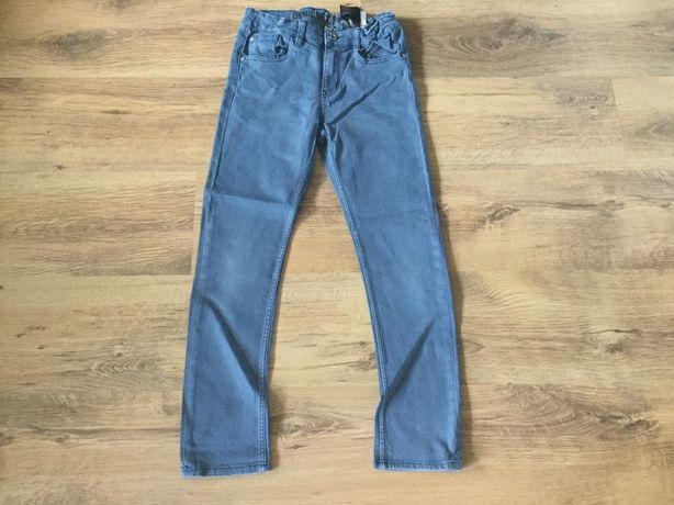 Spodnie rurki H&M rozm. 140