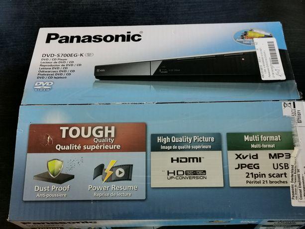 Odtwarzacz DVD Panasonic DVD-S700 Czarny