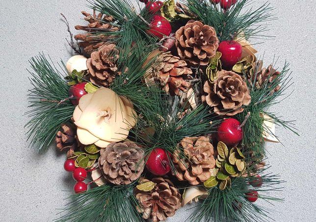 Wianek Świąteczny stroik na cmentarz. Boże Narodzenie (2)