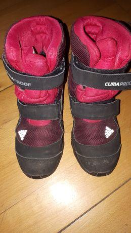 Śniegowce adidas clima proof buty zimowe r. 33