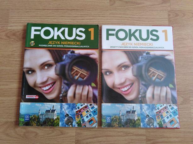 Podręcznik + ćwiczenia FOKUS 1 - język niemiecki