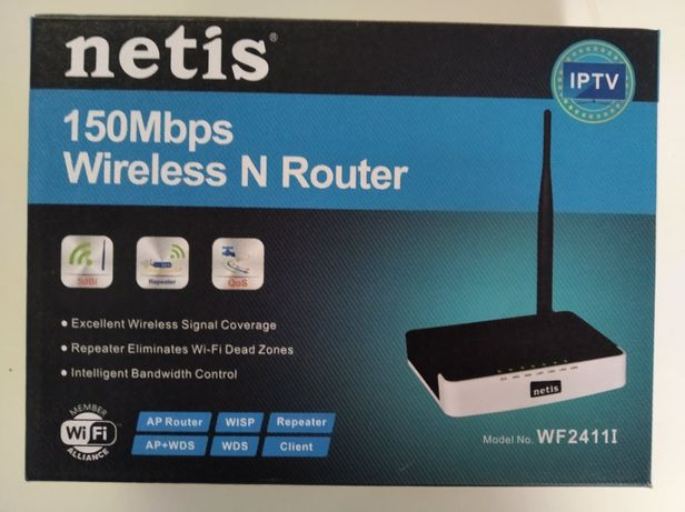 Bezprzewodowy router standard N 150Mb/s NETIS WF2411