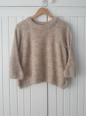 Mini Sweterek Kawa z Mlekiem, Zara