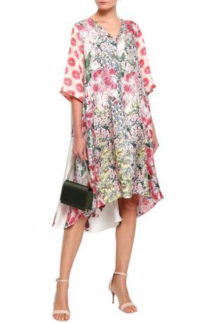 Дизайнерское шёлковое платье Biyan