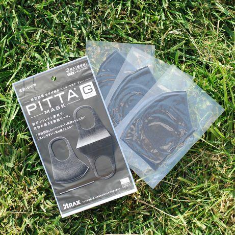 ( 3 МАСКИ ) Многоразовые маски питта/Pitta Mask. Полиуретан