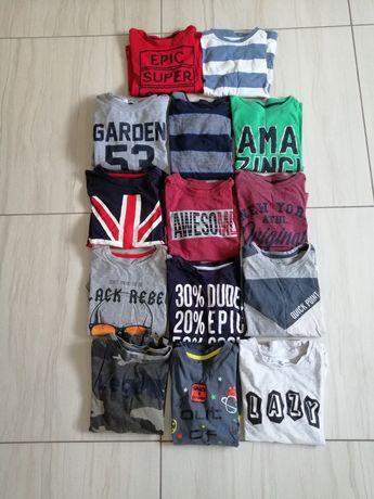 Ubrania dla chłopca - spodnie bluzki