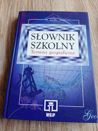 Słownik  szkolny (Terminy geograficzne)
