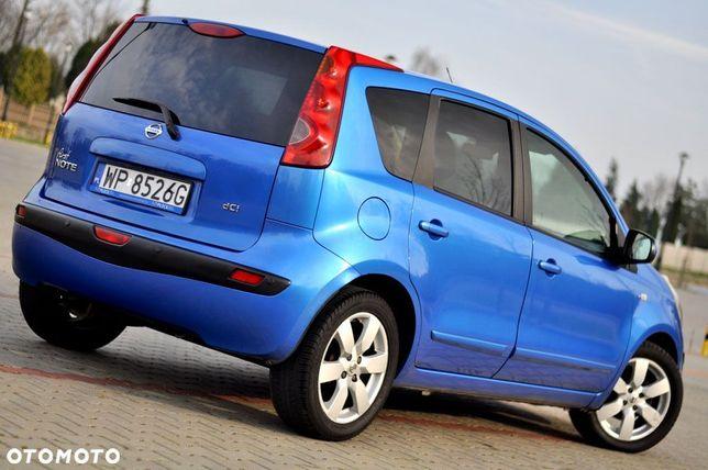 Nissan Note Wpada W Oko__piękny Lakier__candy Blue__klima 1