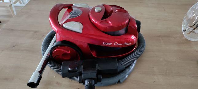 Niemiecki mocny bezworkowy odkurzacz CleanMaxx o mocy 2200W. Polecam!!