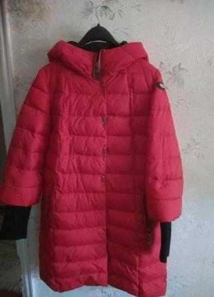 Дуже тепле зимове пальтішко