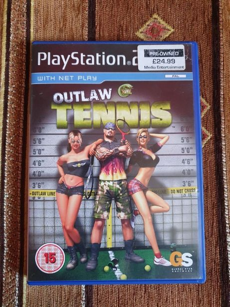 Gra Outlaw Tennis na Sony PlayStation 2 (PS2)