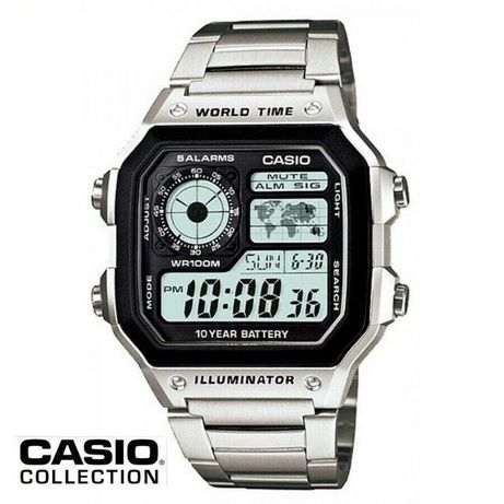 Relósio Casio TIME WORLD