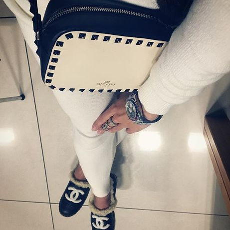Лимитированная Валентино сумочка сумка кроссбоди кожа