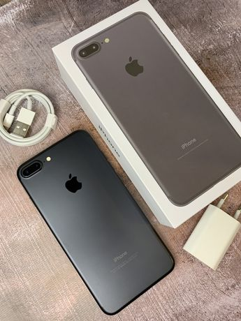 Iphone 7 plus matte black neverlock 128 gb
