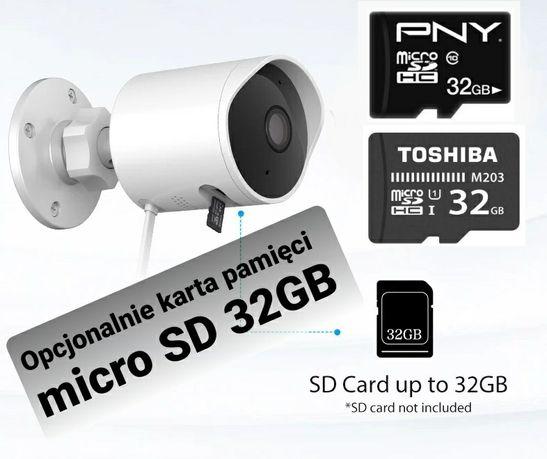 YI Outdoor Camera 1080p Kamera Zewnętrzna IP WiFi