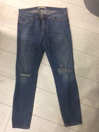 Spodnie dżinsy zara 40 L
