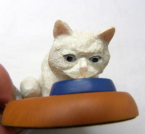 котик кот игрушка винтаж Франция на подставке