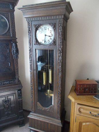 zegar stojacy sygnowany Tobias Bäuerle 1910 antyk