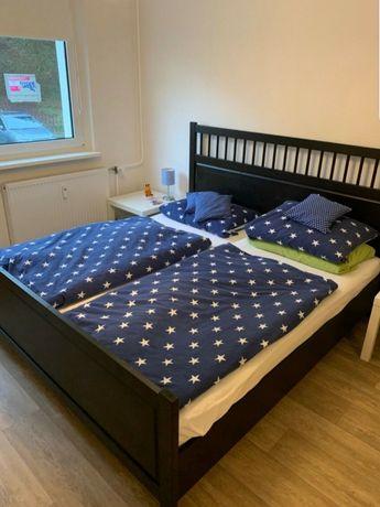 Łóżko Ikea Hemnes 180x200 komplet