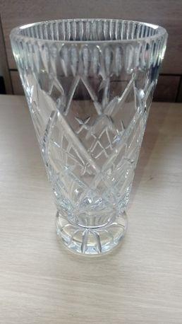 Duży kryształowy wazon kryształ wazonik polski 18cm