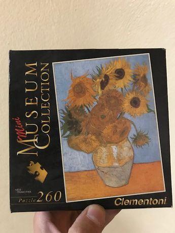 Puzzle 260 peças da Mini Museum Collectioon - Clementoni