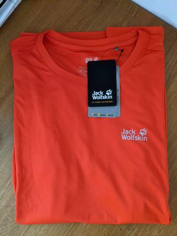 Koszulka sportowa oddychająca Jack Wolfskin L